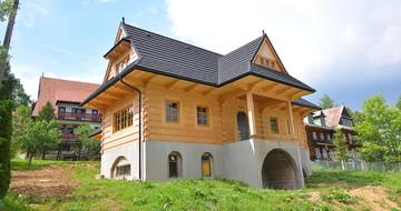 GERARD Corona Tamsiai sidabrinė Bukowina Tatrzańska, dom jednorodzinny